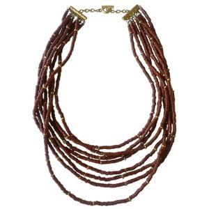 🇨🇦 FREE w/p multi strand ceramic necklace